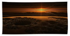 Marscape Beach Towel