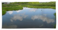 Marshland Beach Towel by Ron Davidson