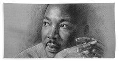 Martin Luther King Jr Beach Towel
