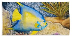 Martinique Angel Beach Towel