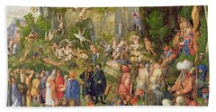 Martyrdom Of The Ten Thousand, 1508 Beach Towel