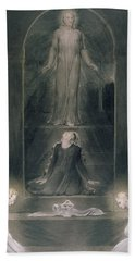 Mary Magdalene At The Sepulchre Beach Towel
