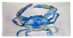 Maryland Blue Crab  Beach Towel