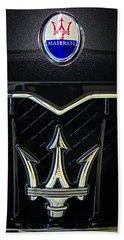 Maserati Badge Beach Towel