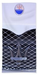 Maserati Emblems Beach Towel