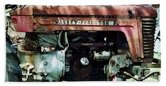 Massey-ferguson Beach Towel by Patricia Greer