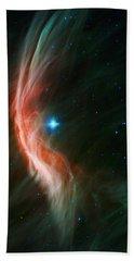 Massive Star Makes Waves Beach Towel by Adam Romanowicz