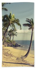 Beach Towel featuring the photograph Maui Lu Beach Hawaii by Sharon Mau