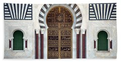 Mausoleum Doors Beach Towel