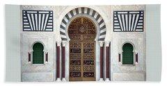 Mausoleum Doors Beach Towel
