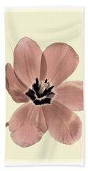 Mauve Tulip Transparency Beach Sheet