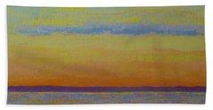 May Sunset Beach Towel