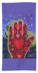 May We Choose Love Beach Towel by Helena Tiainen