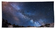 Mayflower Gulch Milky Way Beach Towel