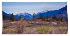 Mazama From Wolf Creek Beach Towel