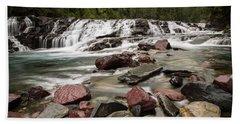 Mcdonald Creek Beach Towel