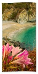 Mcway Falls-3am Adventure Beach Towel by David Millenheft