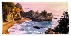 Mcway Falls Pacific Coast Beach Sheet