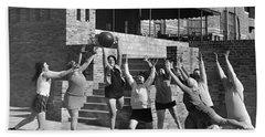 Medicine Ball Exercise Beach Towel