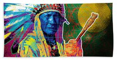 Medicine Man Beach Towel