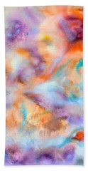 Meditation Beach Towel by  Heidi Scott