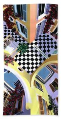 Mediterranean Illusion Beach Towel