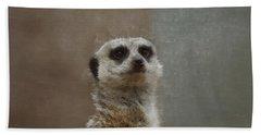 Meerkat 5 Beach Towel