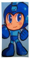 Mega Man Beach Towel