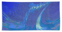 Beach Towel featuring the painting Melody by Mike Breau