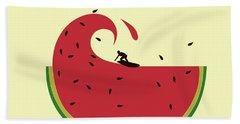 Melon Splash Beach Towel