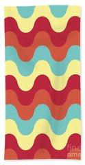 Melting Colors Pattern Beach Towel