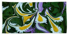 Beach Towel featuring the photograph Melting Daisies by Aimee L Maher Photography and Art Visit ALMGallerydotcom