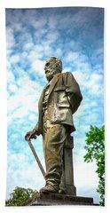 Memphis Elmwood Cemetery - Man With Cane Beach Towel