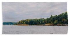 Men Fishing On Barren River Lake Beach Towel