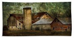 Mennonite Farm In Tennessee Usa Beach Sheet