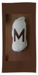 Menominee Maroons Beach Towel by Jonathon Hansen