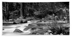Merced River Beach Towel by Jason Abando