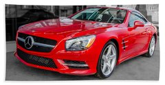 Mercedes Sl550   7d01718 Beach Sheet