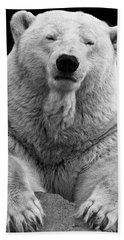 Mercedes The Polar Bear Beach Towel