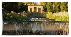 Meridian Hill Park Waterfall Beach Towel