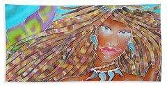 Mermaid Queen Beach Towel