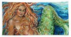 Mermaid Sleep New Beach Sheet