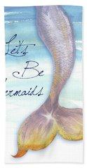 Mermaid Tail II Beach Towel