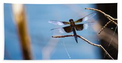 Merrill Creek Dragonfly Beach Towel