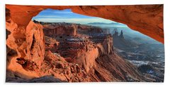 Mesa Arch Frame Beach Sheet