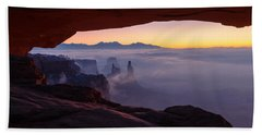 Mesa Mist Beach Towel