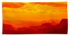 Mesas And Buttes Grand Canyon National Beach Towel