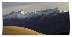 Mesquite Dunes And Grapevine Range Beach Towel by Joe Schofield