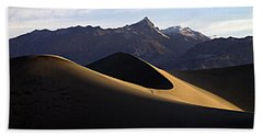 Mesquite Dunes At Dawn Beach Towel by Joe Schofield