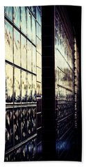Beach Towel featuring the photograph Metallic Reflections by Melanie Lankford Photography